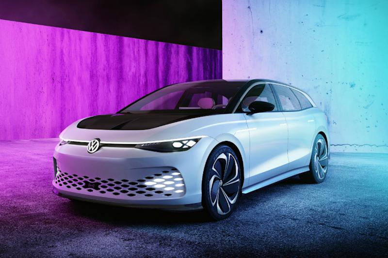 Volkswagen ID Space Vission. (Image source: AFP Relaxnews)