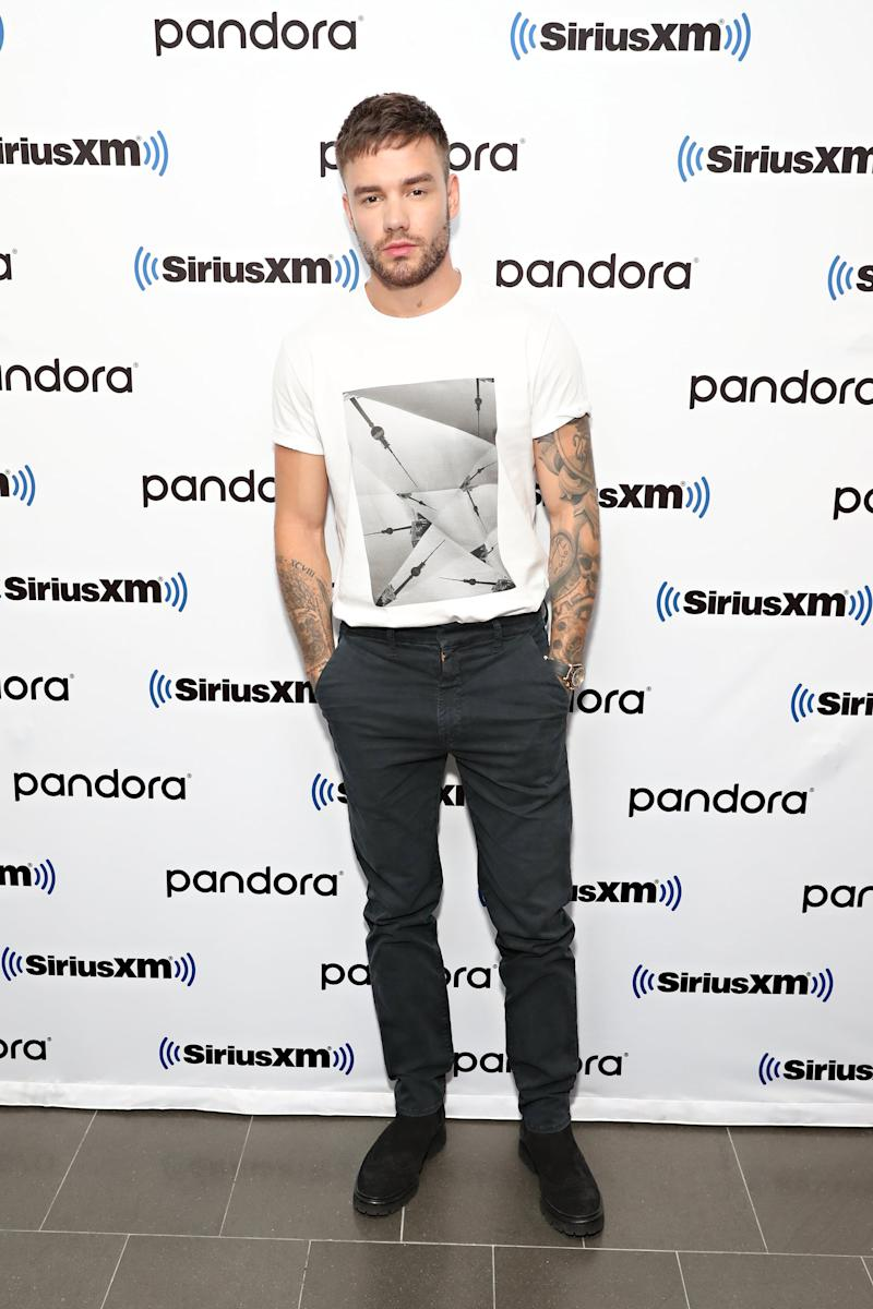 NEW YORK, NY - SEPTEMBER 17: SiriusXM Celebrity Session with Liam Payne on Hits1! at SiriusXM Studios on September 17, 2019 in New York City. (Photo by Cindy Ord/Getty Images for SiriusXM)