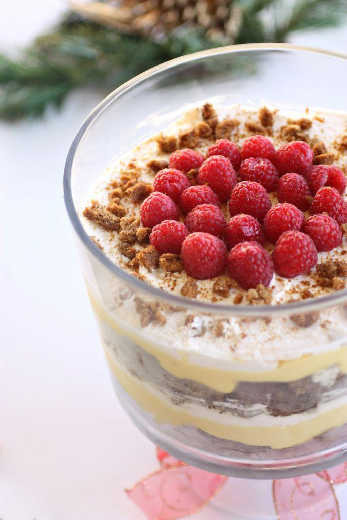 """<p>Celebrate this season by throwing together all your favorite holiday desserts into one delicious bowl.</p><p><strong>Get the recipe at <a href=""""http://www.the-girl-who-ate-everything.com/2010/12/eggnog-gingerbread-trifle.html"""" rel=""""nofollow noopener"""" target=""""_blank"""" data-ylk=""""slk:The Girl Who Ate Everything"""" class=""""link rapid-noclick-resp"""">The Girl Who Ate Everything</a>.</strong> </p>"""