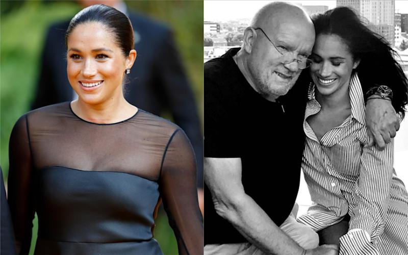 The Duchess of Sussex has paid tribute to Peter Lindbergh [Photo: Getty/Instagram]