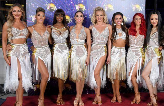 The pro dancers will pre-record the group dances once again (Photo: Karwai Tang via Getty Images)