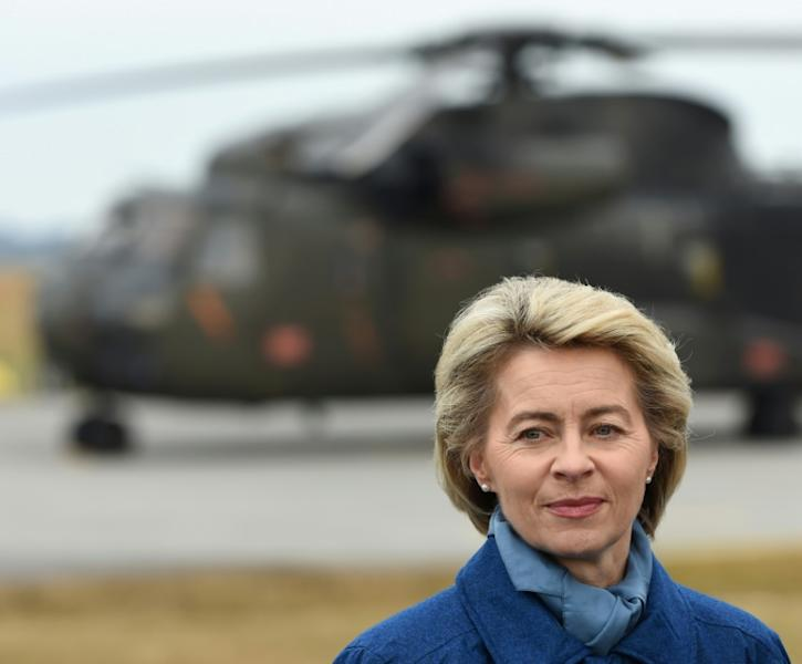 "German Defence Minister Ursula von der Leyen has criticised ""attitude and leadership problems"" in the military"