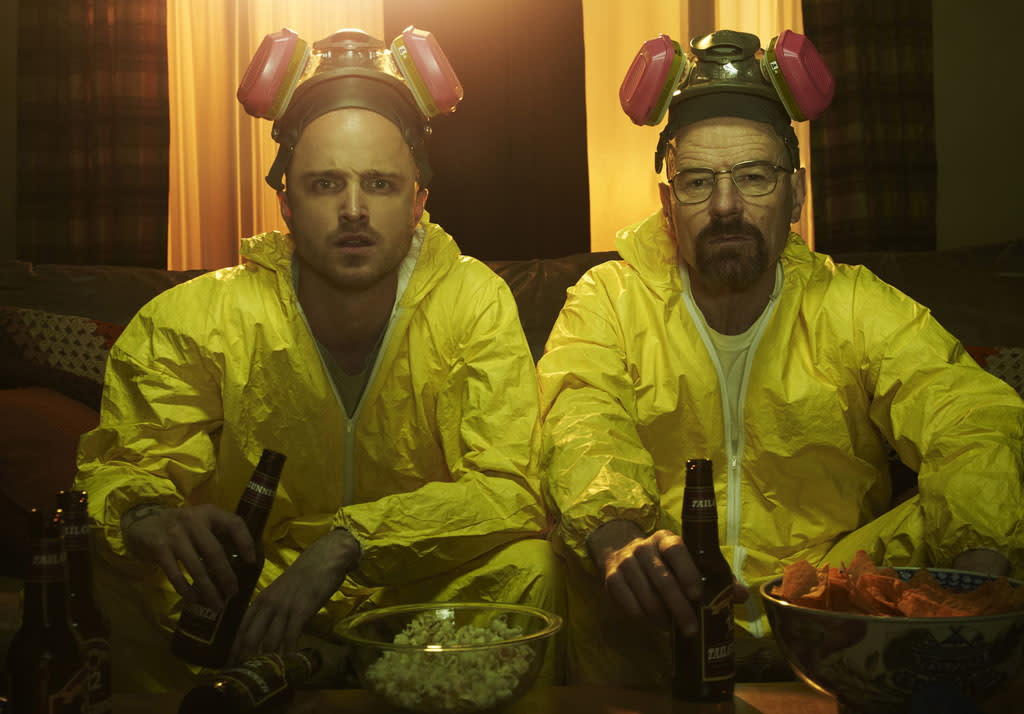 "<p><b>""Breaking Bad""</b><br><br> </p><p><b>What: </b>AMC's amazing crime serial brings its cast to San Diego to introduce and answer questions about the highly anticipated Season 5 premiere. Can we get a ""Yeah, science!"" up in here? <b><br><br>When:</b> Friday, 6:45pm; Ballroom 20<br> <b><br>Appropriate Wait Time:</b> Two hours. Watching the season premiere in the presence of Walter White and Jesse Pinkman themselves sounds like the kind of once-in-a-lifetime opportunity you just can't say no to. Especially because Walt is totally capable of killing you if you try.</p>"