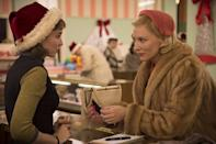 <p><i>Star Wars</i> is dominating the conversation right now, but plenty of smaller films have garnered end-of-the-year awards buzz, and they're doing just fine. Despite their limited releases, <i>Spotlight, Carol</i> (pictured)<i>, Room, Brooklyn, Youth, </i>and <i>The Big Short </i>are all attracting a cinema-savvy audience. (Photo: The Weinstein Co.)</p>