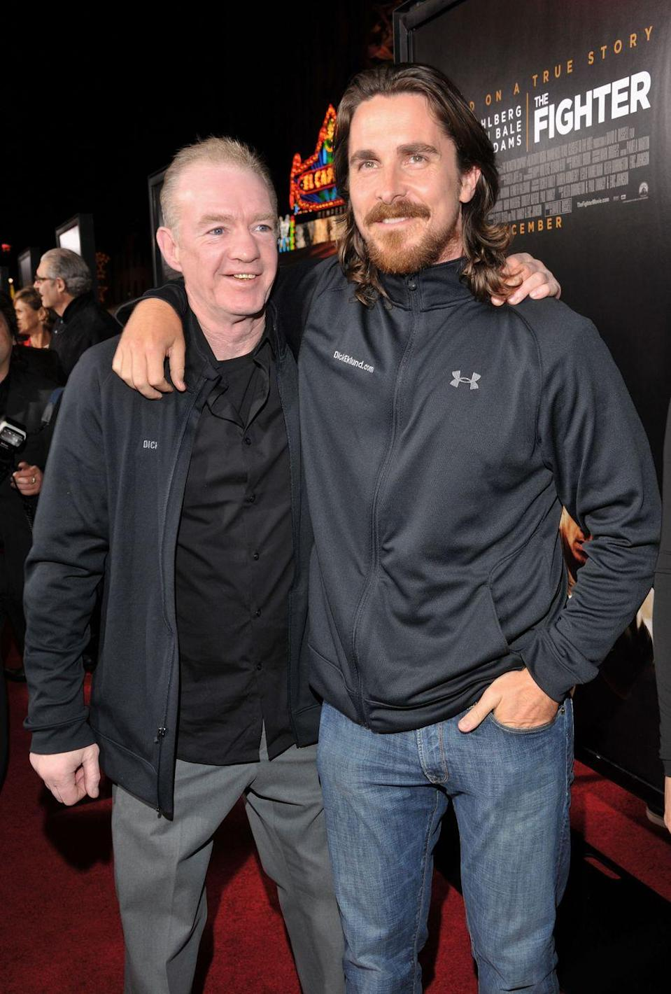 <p>Christian Bale played boxer Dicky Eklund in <em>The Fighter </em>in 2010. </p>
