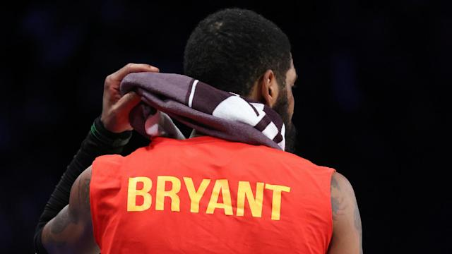 Kyrie Irving starred for Brooklyn Nets in Wednesday's win over Detroit Pistons and later paid an emotional tribute to the late Kobe Bryant.