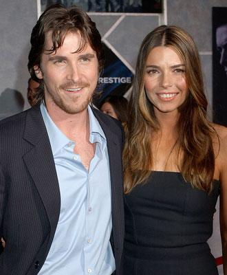 """Premiere: <a href=""""/movie/contributor/1800018597"""">Christian Bale</a> and wife <a href=""""/movie/contributor/1808949788"""">Sibi Blazic</a> at the Hollywood premiere of Touchstone Pictures' <a href=""""/movie/1809267303/info"""">The Prestige</a> - 10/17/2006<br>"""