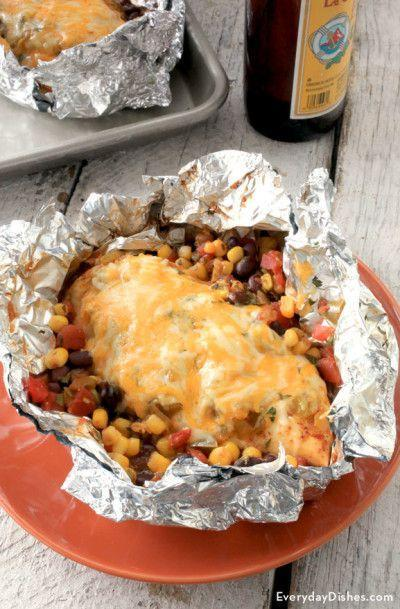 """<p>This is our favorite kind of package to unwrap.</p><p>Get the recipe from <a href=""""http://everydaydishes.com/simple-food-recipes/southwest-chicken-foil-packet/"""" rel=""""nofollow noopener"""" target=""""_blank"""" data-ylk=""""slk:Everyday Dishes"""" class=""""link rapid-noclick-resp"""">Everyday Dishes</a>.</p>"""