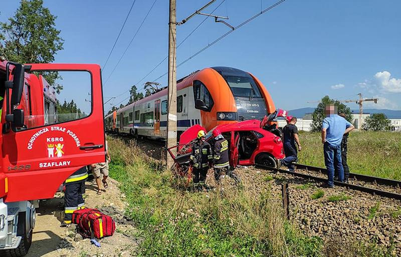 The learner driver died in Nowy Targ hospital after being hit by a train in Poland. Source: CEN/Australscope