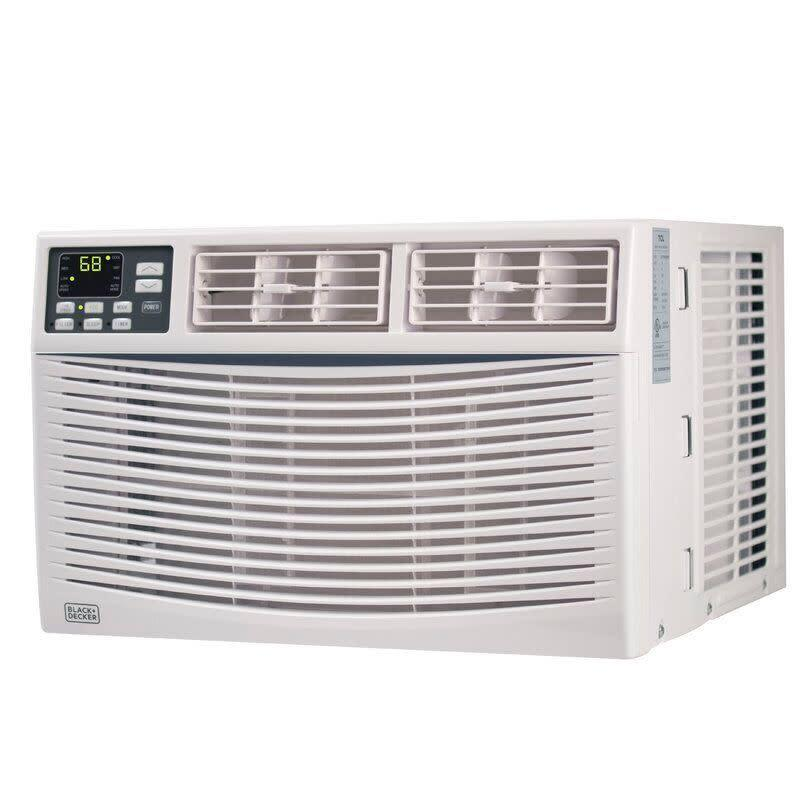 "This air conditioner has a removable and washable filter, full-function remote control and digital display to tell the temperature. It has a 4.7-star rating with more than 100 reviews. <a href=""https://fave.co/2SKUjbA"" rel=""nofollow noopener"" target=""_blank"" data-ylk=""slk:Find it for $208 at Wayfair"" class=""link rapid-noclick-resp"">Find it for $208 at Wayfair</a>."