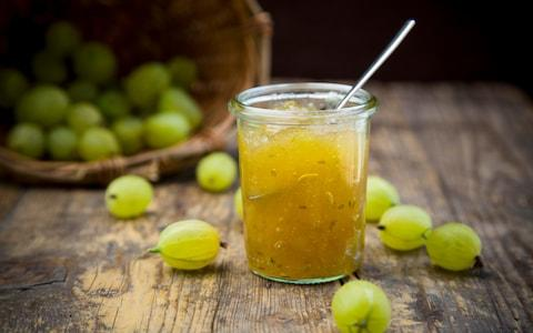 Gooseberry jam, ideal for adding to a sweet spring dish - Credit: Westend61/GETTY