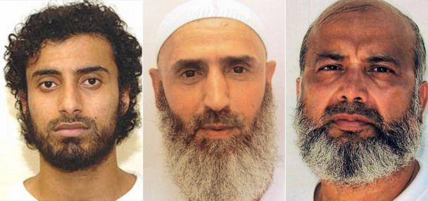 PHOTO: Khaled Qassim, Abdul Latif Nasser and Saifullah Paracha have all complained to their attorney of 'degrading' medical treatment at the facility in Guantanamo Bay, Cuba. (Reprieve)