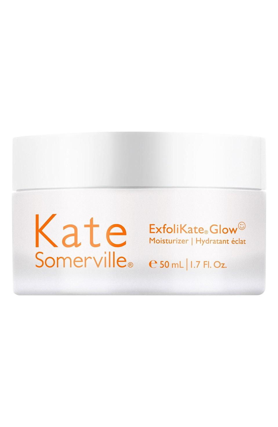 <p>This is another cult classic we had no idea took advantage of cactus extract. The <span>Kate Somerville ExfoliKate Glow Moisturizer</span> ($65) uses nopal flower extract to combat any irritation caused from the exfoliants in this product. The result is a rare combination of exfoliated and hydrated skin. What's not to love? </p>
