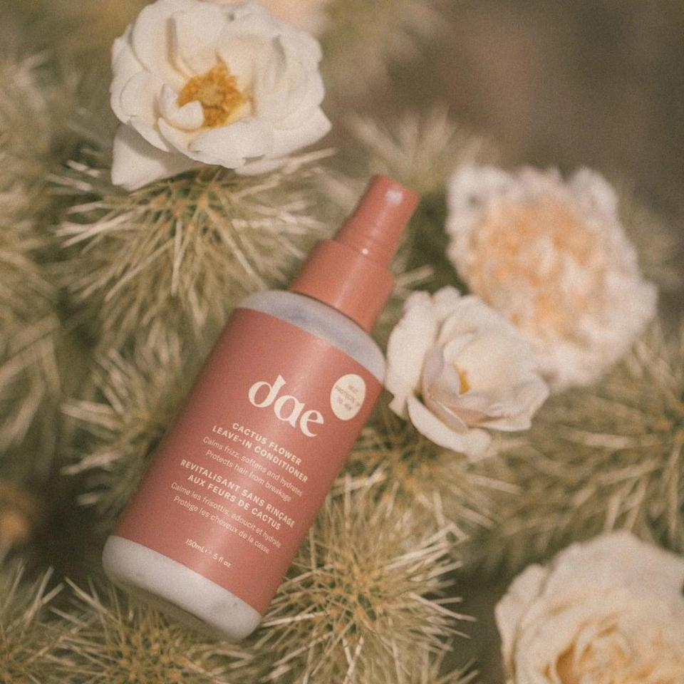 <p>Keep the ends of your hair nourished and hydrated with the <span>dae Cactus Flower Leave In Conditioner</span> ($26). It's a heat protectant that will leave hair smooth and soft.</p>
