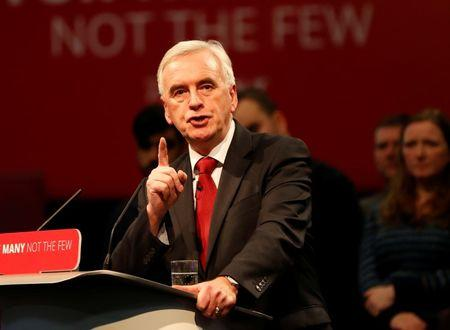 A Labour government would offer finance sector a seat at table - McDonnell