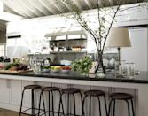 """<p>In our 2009 Kitchen of the Year, Ina Garten revealed her inspiration behind the design. She thought of the kitchen as a place for gatherings. </p><p><a href=""""http://www.housebeautiful.com/room-decorating/kitchens/g775/kitchen-of-the-year-photos/"""" rel=""""nofollow noopener"""" target=""""_blank"""" data-ylk=""""slk:See more of the 2009 Kitchen of the Year »"""" class=""""link rapid-noclick-resp""""><em>See more of the 2009 Kitchen of the Year »</em></a></p>"""