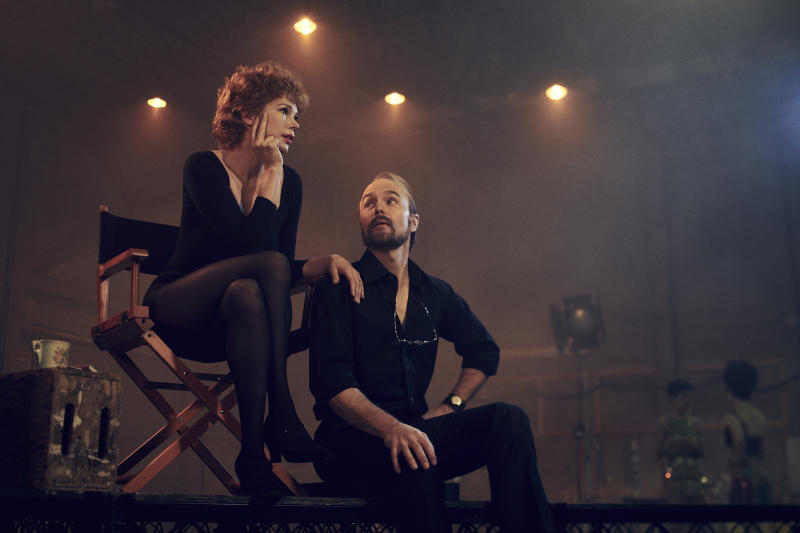 Verdon (Michelle Williams) and Fosse (Sam Rockwell) couldn't live with each other but couldn't work alone | Pari Dukovic—FX