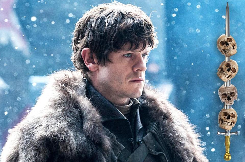 <p>Maybe it's just our wishful thinking, but we really, really, really want to believe that the sadistic Bolton bastard will receive his comeuppance this season, preferably in the most painful way possible. Now that Theon and Sansa have (temporarily, anyway) escaped his clutches, they can potentially find a way to strike back against their tormentor, especially if they stumble upon badass Brienne, who may still be lurking nearby. If she and Ramsay enter the same room, no way is he walking out alive. </p><p><i>(Credit: Helen Sloa/HBO)</i></p>