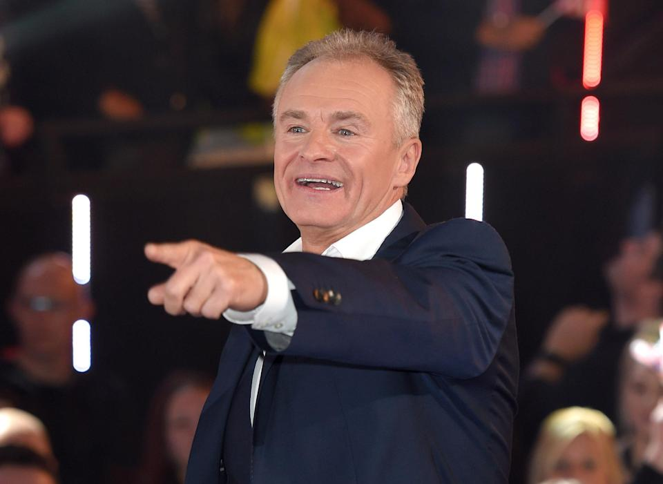 Bobby Davro was victim to a violent assault after he tried to break up a verbal fight between his ex-wife Trudi Jameson and an unidentified woman (Karwai Tang/WireImage)