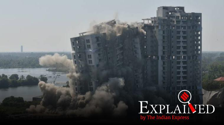 Explained: What are CRZ rules which the demolished Maradu flats violated?
