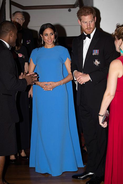 meghan-markle-blue-gown