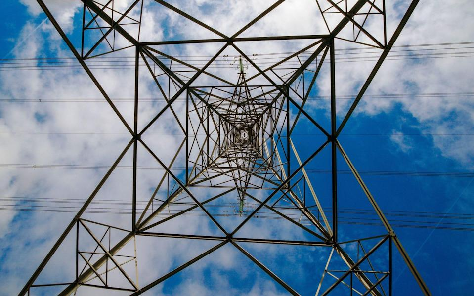 A view of an electricity pylon in Cheshire - Peter Byrne/ PA