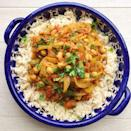 """<p>In a hurry for some curry? Of course you are. This recipe is super fast and tasty.</p><p>Get the <a href=""""https://www.delish.com/uk/cooking/recipes/a29205588/chickpea-curry-recipe/"""" rel=""""nofollow noopener"""" target=""""_blank"""" data-ylk=""""slk:Chickpea Curry"""" class=""""link rapid-noclick-resp"""">Chickpea Curry</a> recipe.</p>"""