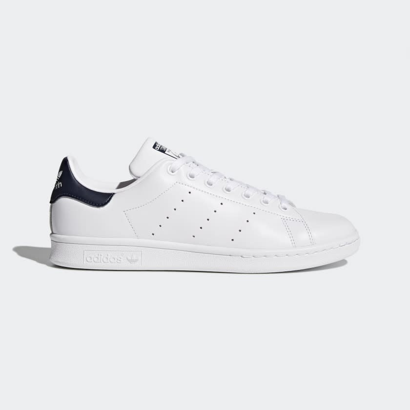 STAN SMITH SHOES Core White / Core White / Dark Blue