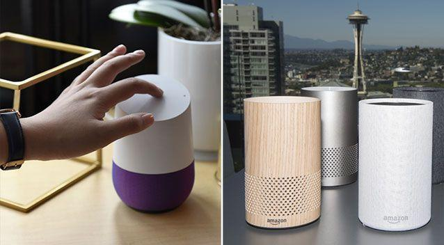 There are concerns the Google Home and Amazon Echo could be listening when users don't realise. Source: Getty Images