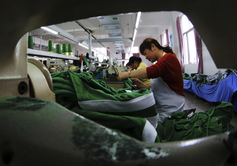 China's manufacturing weakens in credit crunch