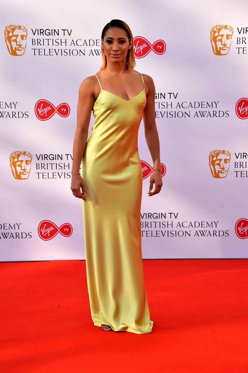 Karen Clifton attending the Virgin TV British Academy Television Awards 2018 held at the Royal Festival Hall, Southbank Centre, London.