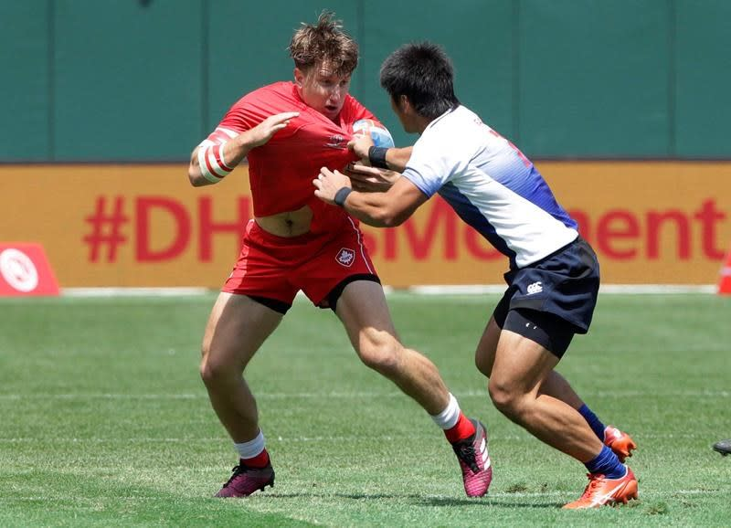Lucas Hammond returns from injury as Canada sevens squad heads Down Under