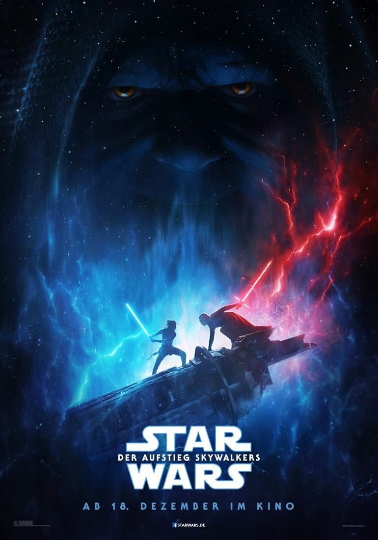 "Das neue ""Star Wars""-Poster. (Bild: 2019 ILM and Lucasfilm Ltd.)"