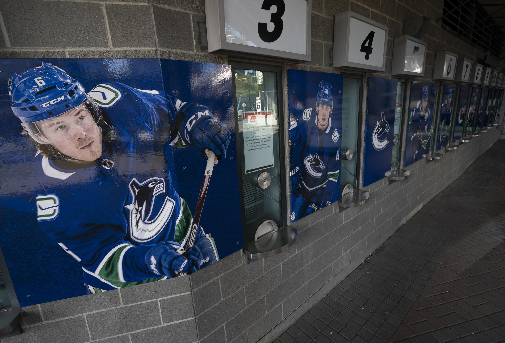 Virus-battered Canucks aim to complete condensed season