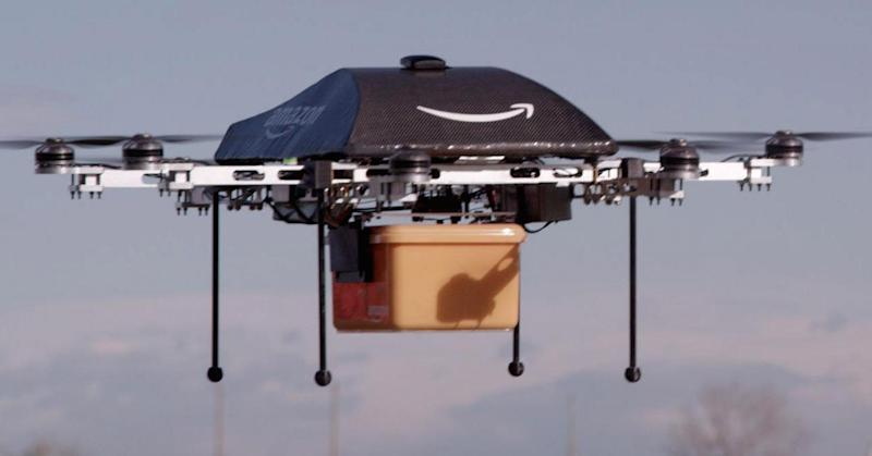 Amazon gets US patent for 'countermeasures' to protect drone delivery