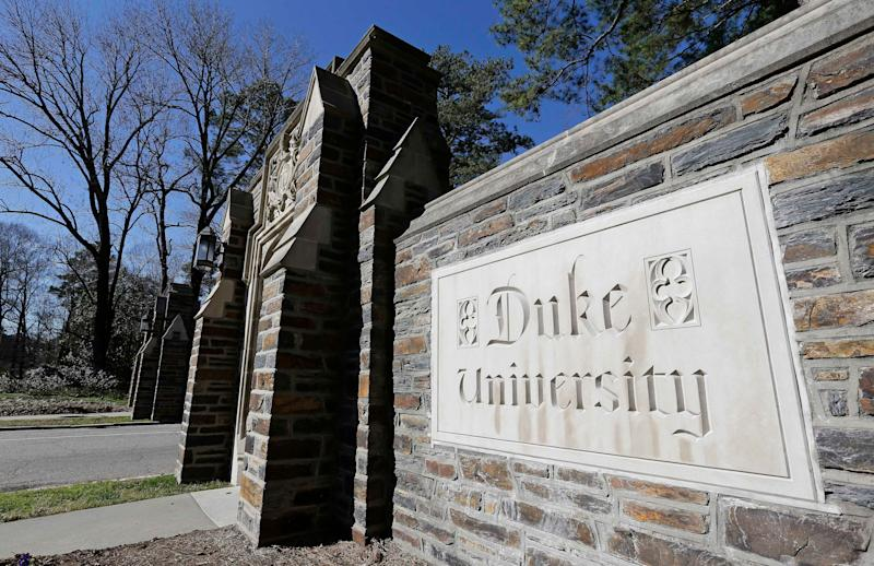 Duke University in Durham, North Carolina, has agreed to pay$112.5 million to the federal government after it was accused of falsifying scientific research to claim millions in federal grants. (Photo: ASSOCIATED PRESS)