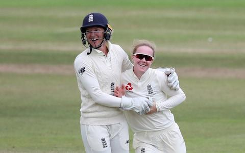 Cricket - Women's Ashes - Test Match - England v Australia - The Coopers Associates County Ground, Taunton, Britain - July 21, 2019 - Credit: Action Images via Reuters