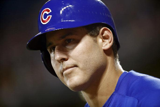 Cubs star Anthony Rizzo sends support to former high school