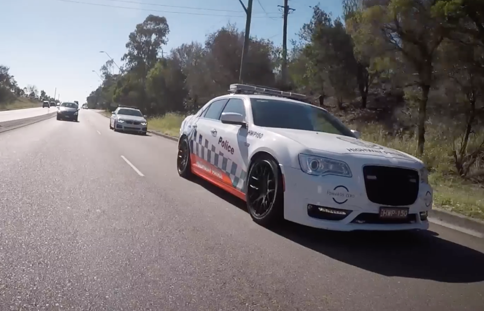 Highway Patrol pulled the woman over three times. Source: NSW Police Force