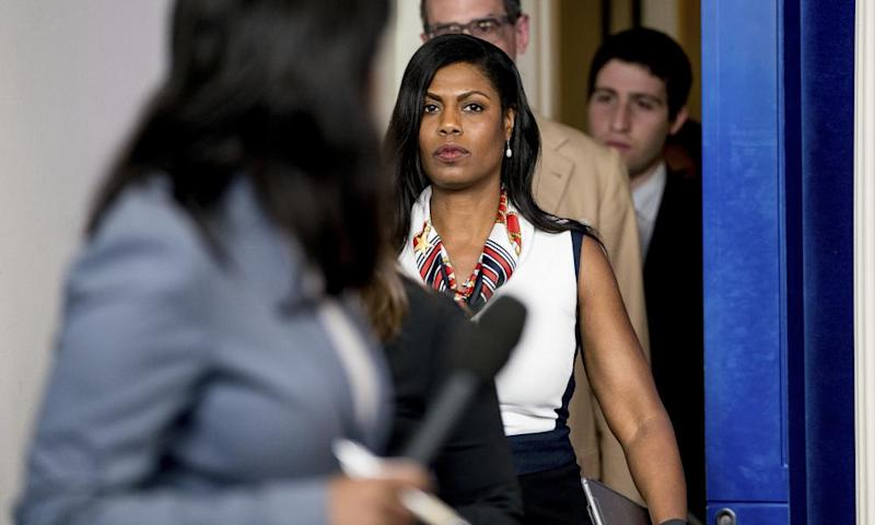Omarosa Manigault Newman played clips of the call on MSNBC, which she says was recorded shortly after she was dismissed from the White House.