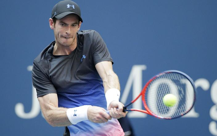 Andy Murray at the US Open 2018 - UPI / Barcroft Media