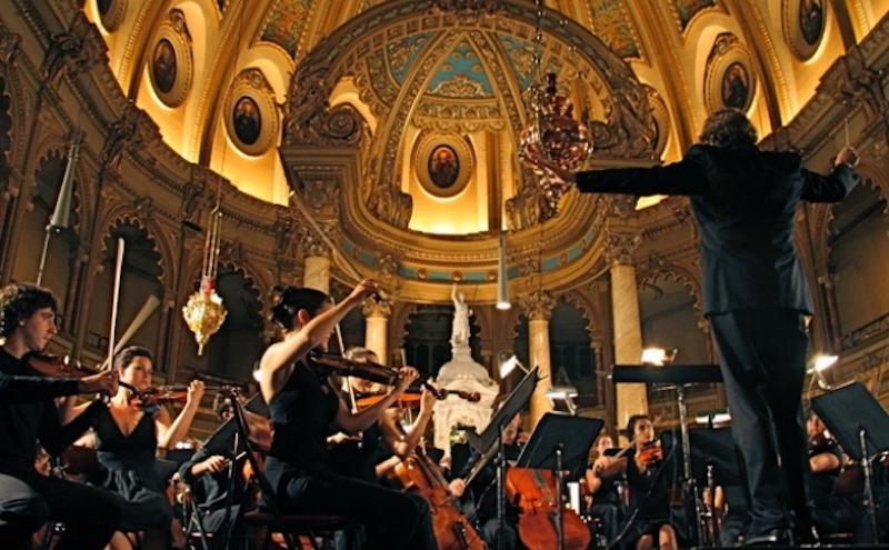 <p>Founded in 2001, the Orchestre de la Francophonie has quickly become one of the best springboards for young Québécois musicians to pursue a career playing for an international professional ensemble. The orchestra plays on July 16 at 7:30 p.m. ET at the NAC Southam Hall. Photo from National Arts Centre. </p>