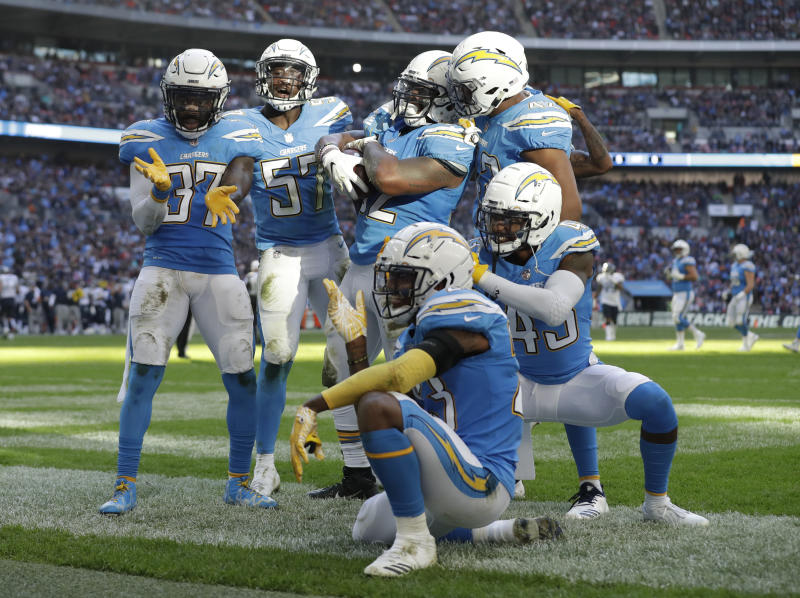 662d774b546 Chargers to wear powder-blue jerseys as primary home uniform