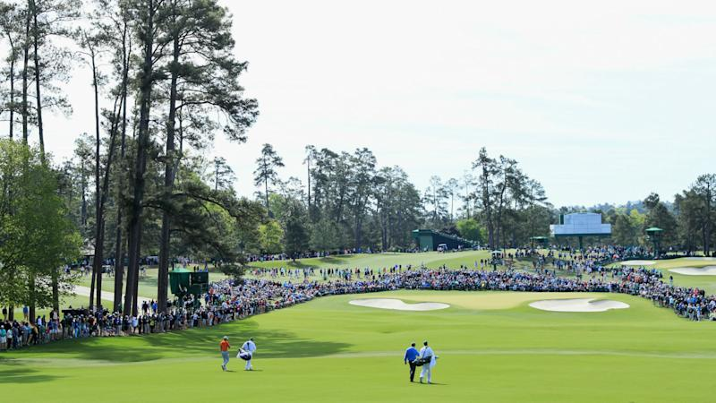 Calmer conditions for 'moving day' at Augusta