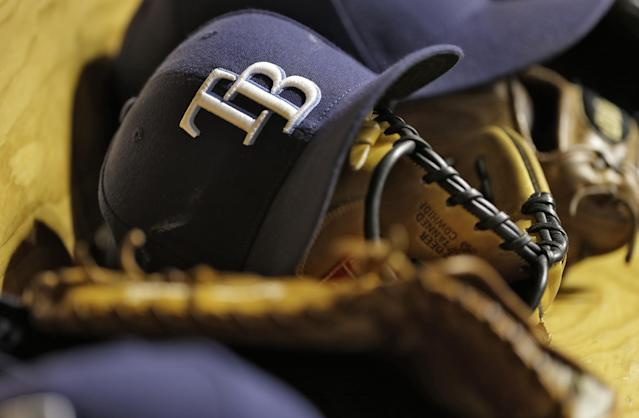 """""""Parlay' Patz is accused of graphic, violent threats toward <a class=""""link rapid-noclick-resp"""" href=""""/mlb/teams/tampa-bay/"""" data-ylk=""""slk:Tampa Bay Rays"""">Tampa Bay Rays</a> players and other athletes. (AP Photo/Chris O'Meara)"""