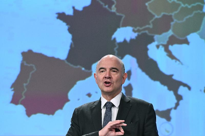 European Economic Affairs Commissioner Pierre Moscovici said officials from member states were negotiating from an initial list of 29 countries (AFP Photo/EMMANUEL DUNAND)