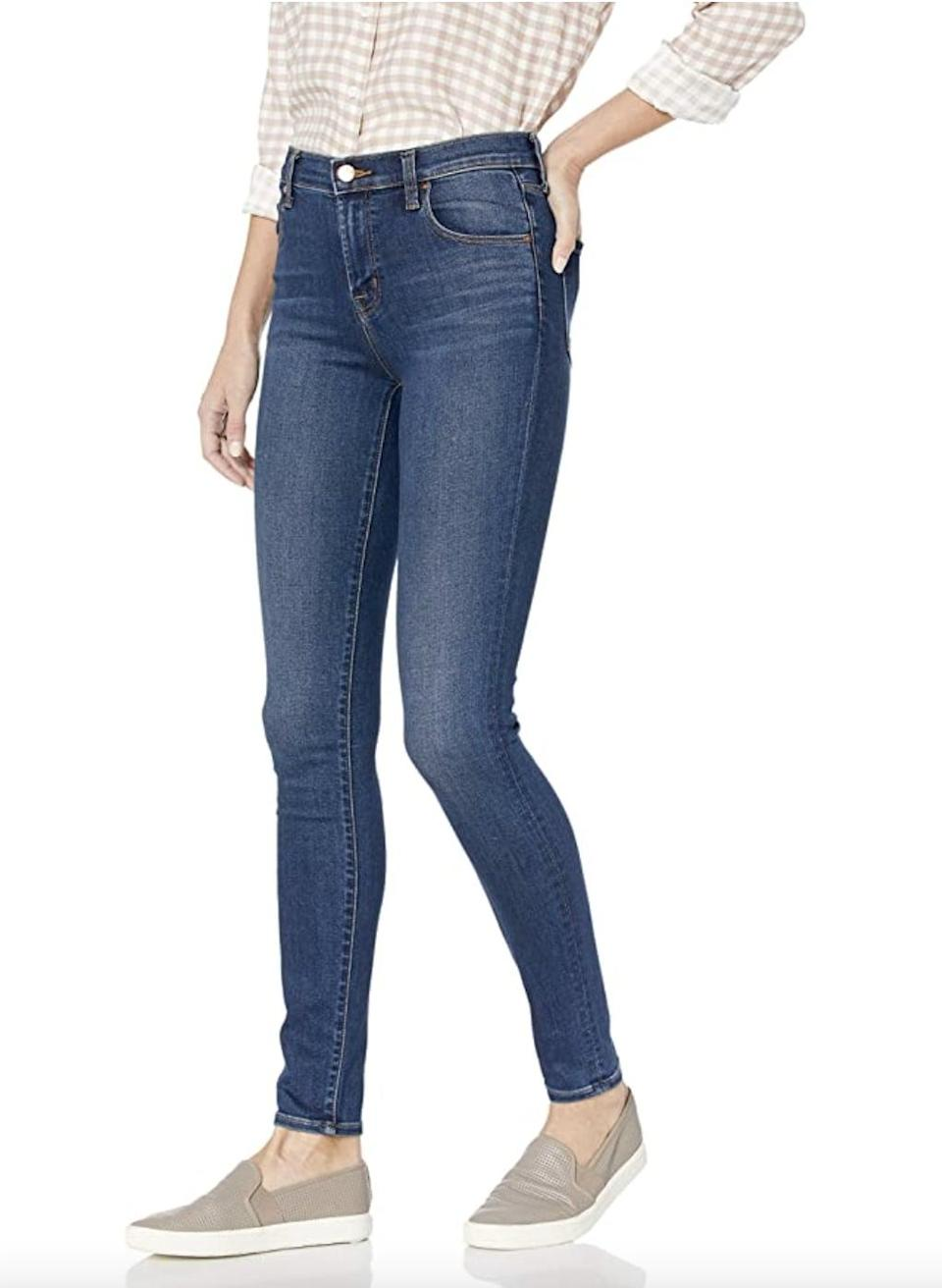 <p>You can wear these <span>J Brand 23110 Maria High Rise Skinny Jeans</span> ($57 - $219) to work or run errands. </p>