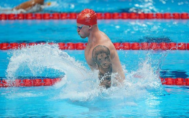 All eyes will be on whether Peaty can set another world record over the next few days (Mike Egerton/PA)