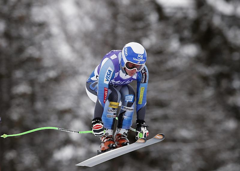 Without Vonn, Cook leads surging downhill squad