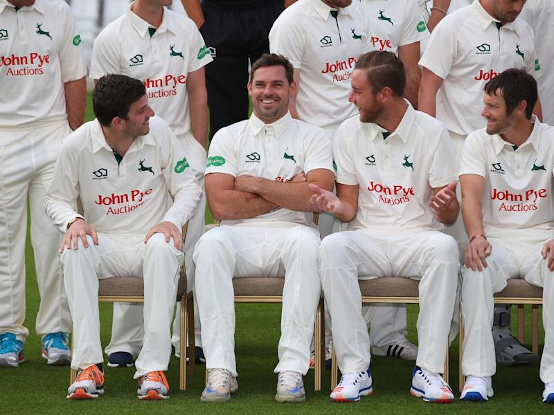 Broad played in Notts' opener but bowled only 21 overs (Getty)